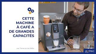 La machine à café idéale pour votre pause-café au bureau ! - Nivona Caferomatica 960