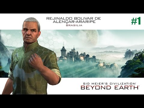 Civilization: Beyond Earth - Rising Tide - Let's Play Brasilia (Apollo) #1