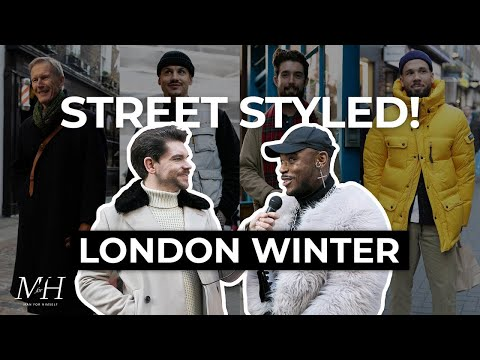 Street Styled | Best Dressed Men In London | Men's Fashion