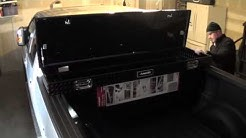 2013 F150 Husky truck tool box install and review in less than 5 minutes!