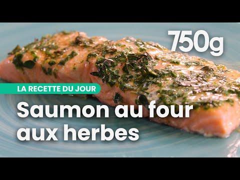 recette-de-saumon-au-four-aux-herbes---750g
