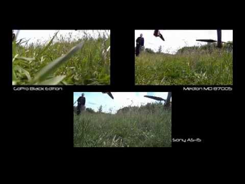 GoPro vs. Medion vs. Sony