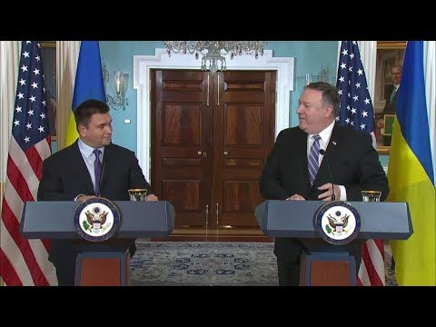 Secretary Pompeo and Ukrainian Foreign Minister Klimkin Deliver Statements to the Press