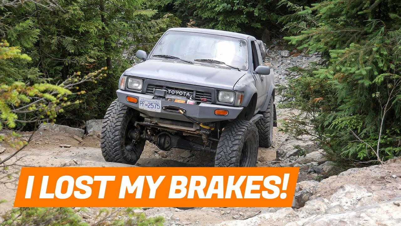How I Lost my BRAKES!