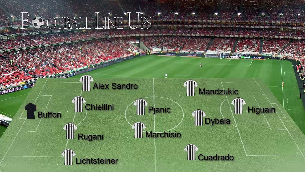 Juventus 3 0 Cagliari Serie A 2017 2018 Juventus Lineup Youtube