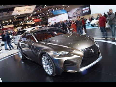 Lexus LF-CC Concept - European Motorshow Brussels 2013