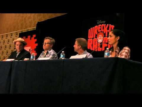 Wreck It Ralph Comic Con Press Conference Comic Con 2012