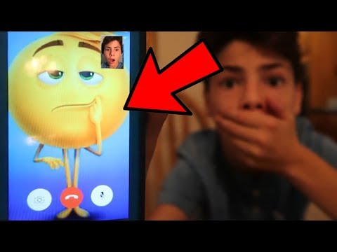 I FACETIMED GENE THE EMOJI IN REAL LIFE! *HE ANSWERED OMG*