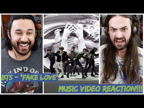 BTS (방탄소년단) 'FAKE LOVE' Official MV - REACTION!!!