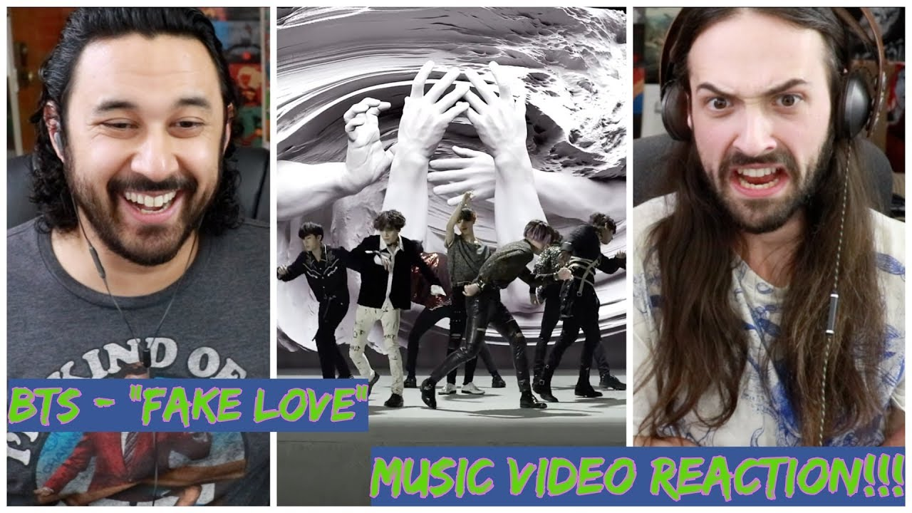 BTS (방탄소년단) 'FAKE LOVE' Official MV - REACTION!!!