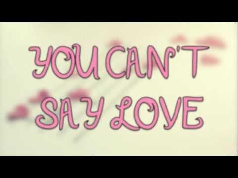 Can't Say Love - Hunter Hayes - Lyrics