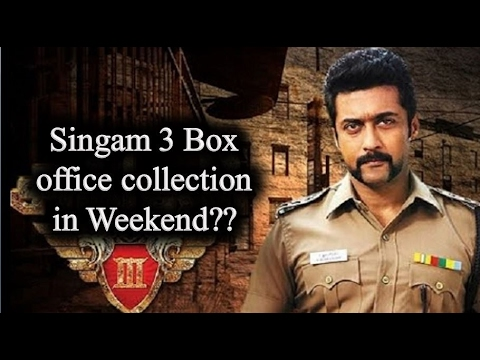 Singam 3 box office collection in weekend biggest opening in singam 3 tamil cinema news youtube - Box office collection news ...