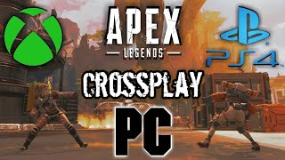 ¡POR FIN! informacion sobre el CROSSPLAY. Apex Legends