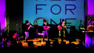 "The Folk Messengers.."" ALL FOR ONE "" Bricherasio 12-4-14"