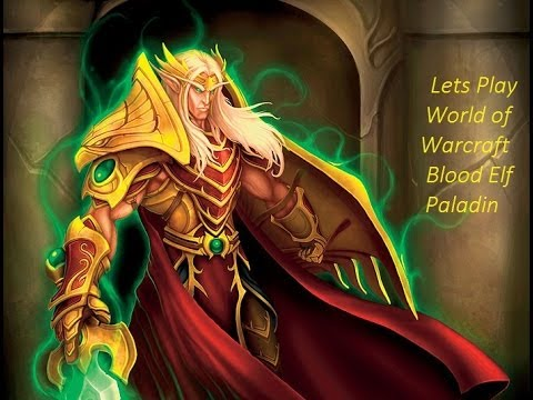 Lets Play World of Warcraft Blood Elf Paladin Part 20 Lake Elrendar