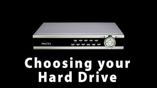 Choosing a Hard Drive for your CL-4PRO Digital Video Recorder (DVR)