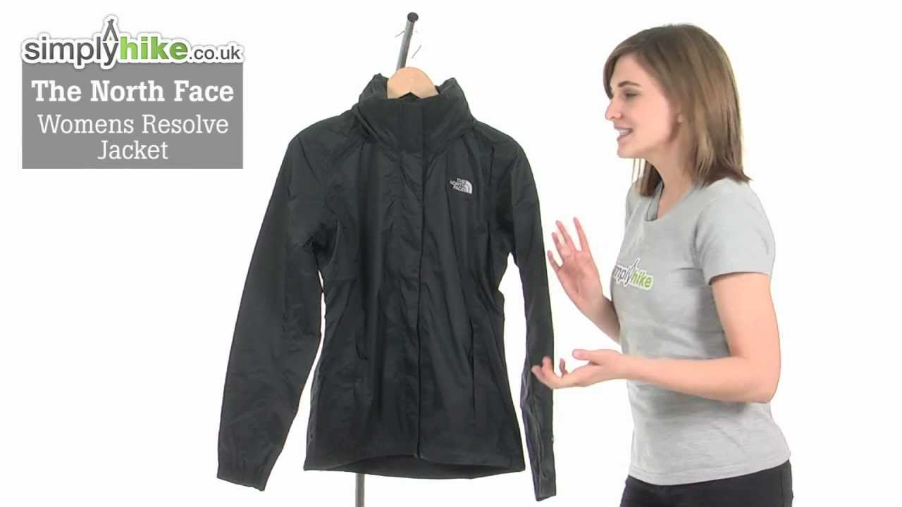 w resolve jacket the north face