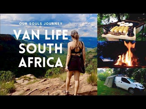 Van Life South Africa | Travel Vlog - Canyon Hike, Riverside Yoga, Vegan Braai & Furry Friends