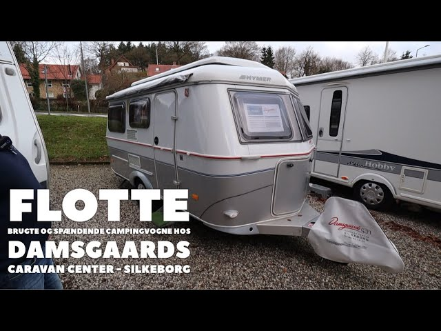 Flotte brugte og spændende campingvogne hos Damsgaards Caravan Center - Silkeborg