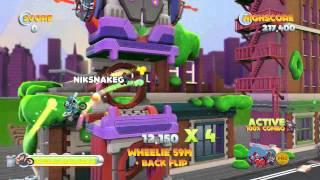 Joe Danger 2: The Movie   100% Combo Gameplay