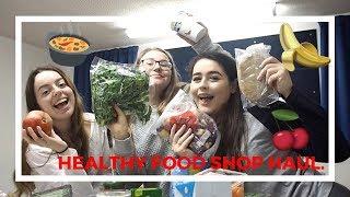 UNI VLOG   Students Go Healthy - Food Shop Haul!