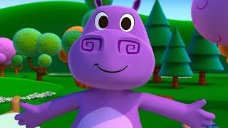 Tamito el Hipopotamito - La Canciones del Zoo 4 | El Reino Infantil