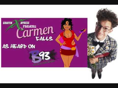 Carmen Says Flower Delivery Guy Is Her Baby Daddy