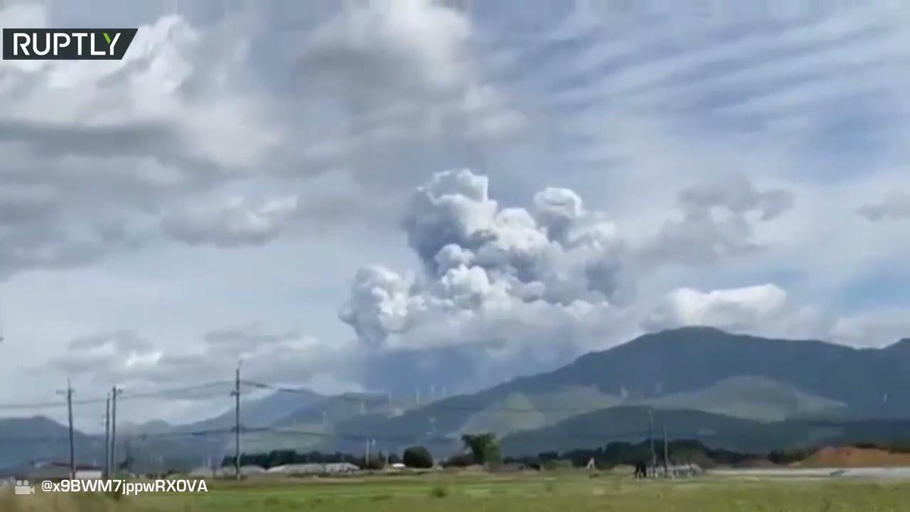 اندلاع بركان جبل -أسو- بجنوب غرب اليابان  - نشر قبل 4 ساعة