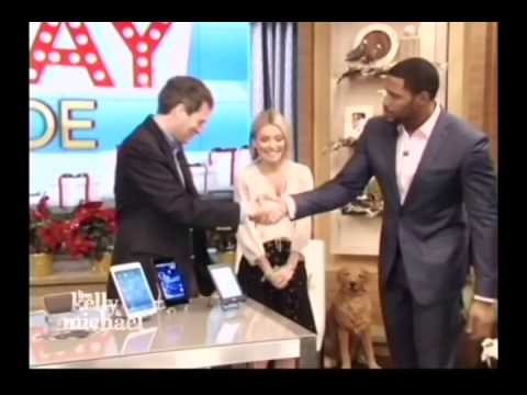 ShutterBall on LiveKelly&Michael 12 13 13