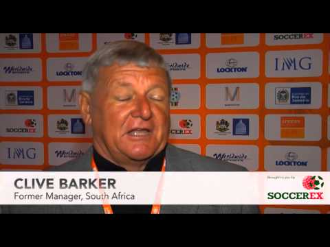 Soccerex Testimonial - Clive Barker, Former Manager, South Africa