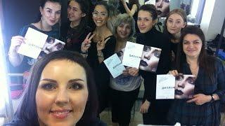 ВЛОГ: Брови, Артбанда..(Мастер-класс проходил в школе макияжа Артбанда http://artbanda.com/ Они являются официальным дистрибьютером италья..., 2015-01-26T16:42:27.000Z)