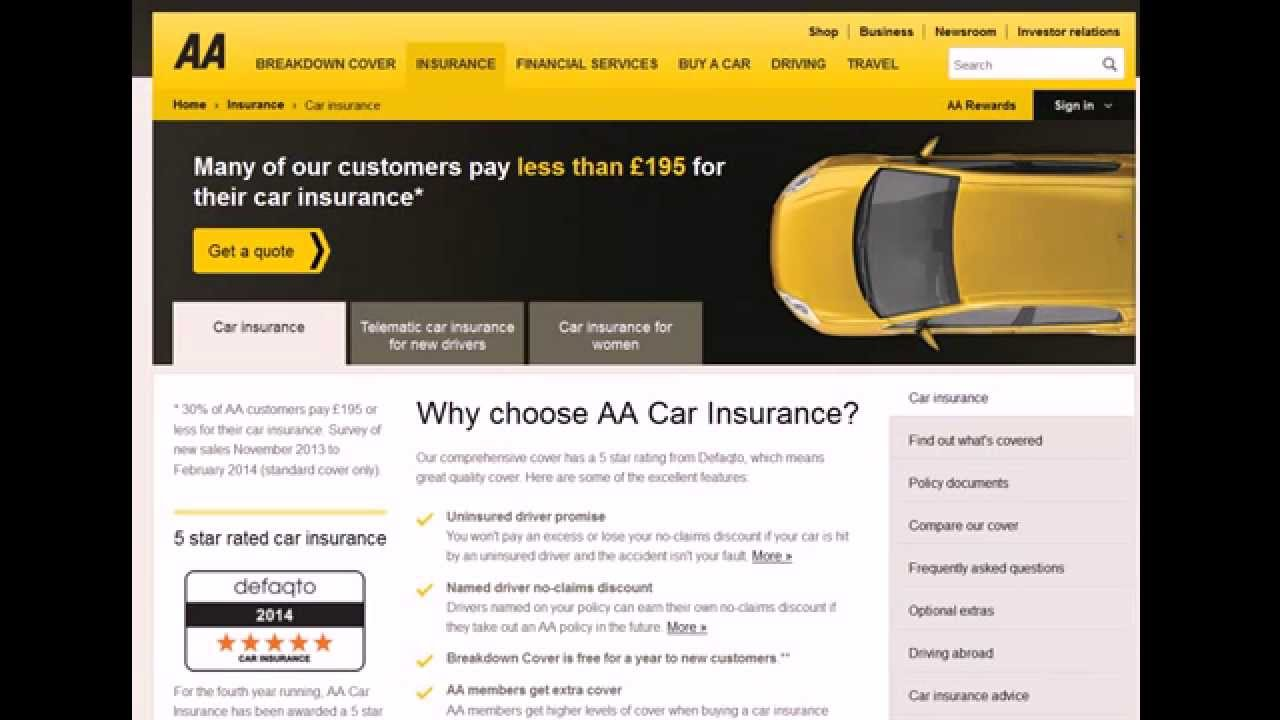 Admiral Car Insurance Driving Abroad