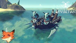 The Last Leviathan - Un jeu sandbox ou on construit son bateau de guerre ! || P&G [FR]