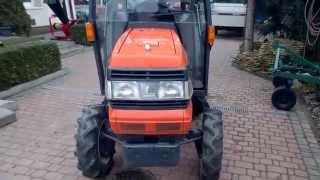 Kubota GL 241 traktor ogrodniczy -Prezentacja.  www.akant-ogrody.pl
