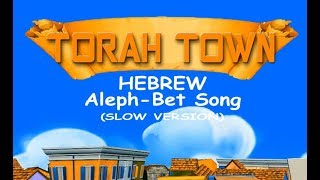 Aleph-Bet Song  SLOW VERSION