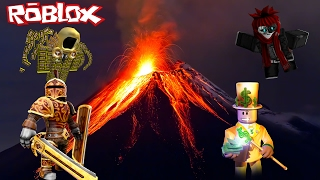 WE'RE MAKING MONEY ON VOLCANO MOUNTAIN! - Roblox REAL LIFE #3