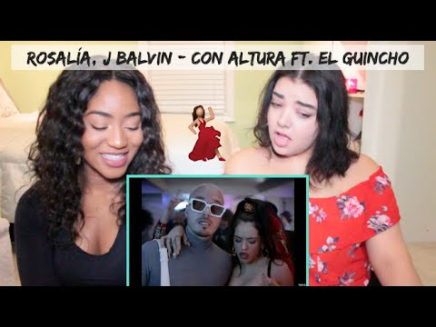 ROSALÍA, J Balvin - Con Altura (Official Video) Ft. El Guincho | REACTION