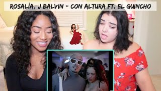 ROSALÍA, J Balvin - Con Altura (Official Video) ft. El Guincho | REACTION