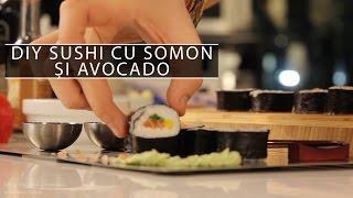 DIY sushi cu somon și avocado - Cavaleria.ro