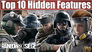 Top 10 Hidden Abilities & Tricks - Rainbow Six Siege