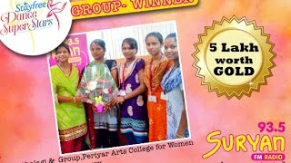 Suryan FM | Stayfree Dance Super Star | Group Winners