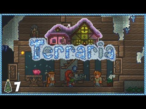 Terraria 1.3.5 Christmas Let's Play - Day 7 BOSS SHOWDOWN!