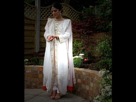 Hyderabadi Khada Dupatta: How To Drape Step By Step