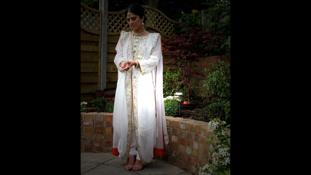 Hyderabadi Khada Dupatta How To Drape Step By