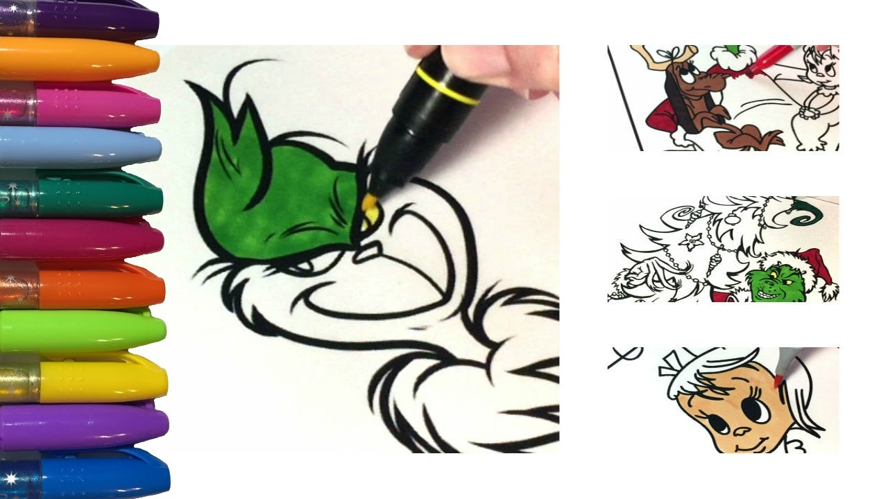 grinch coloring