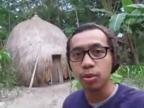 Traditional house of Boti Tribe in Indonesia East Nusa Tenggara