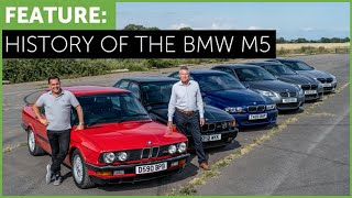 BMW M5 Complete History - E28 to F90