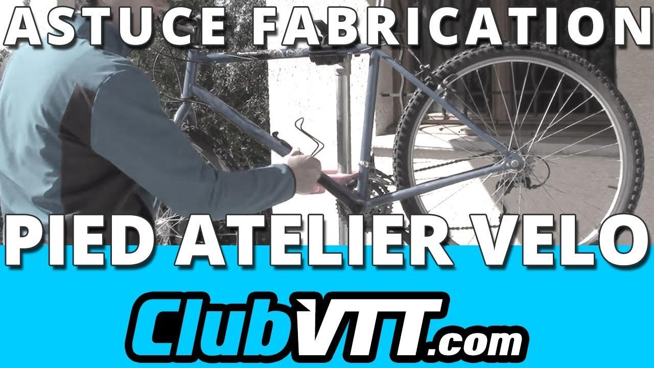 Pied Atelier Velo Astuce Pour Fabriquer Un Pied Datelier Velo