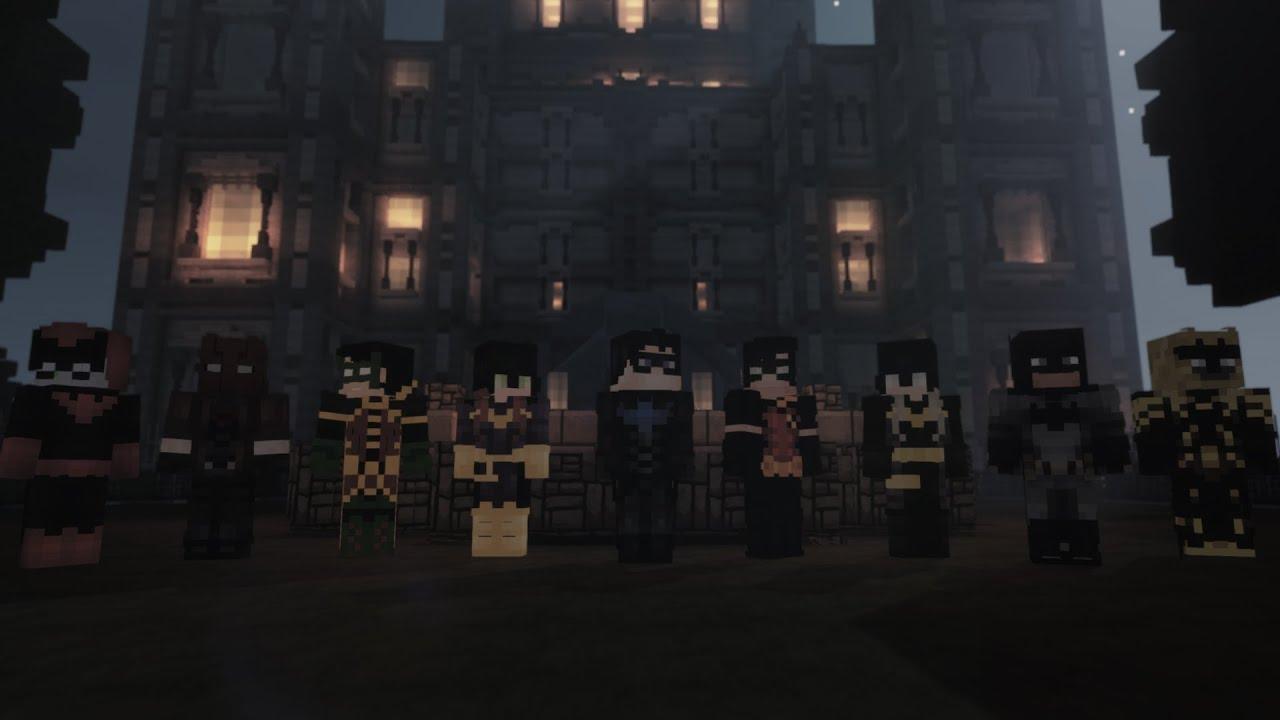 Justice Craft | DC Universe's Minecraft Server 1.13.2 (Batman)