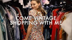 Come Vintage Clothes Shopping With Me!